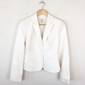 LOFT White Summer Blazer